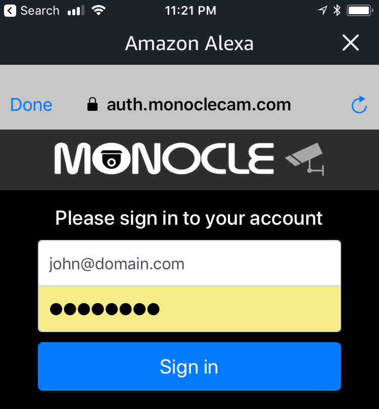 Step 3: Add the Monocle Alexa Skill | Monocle